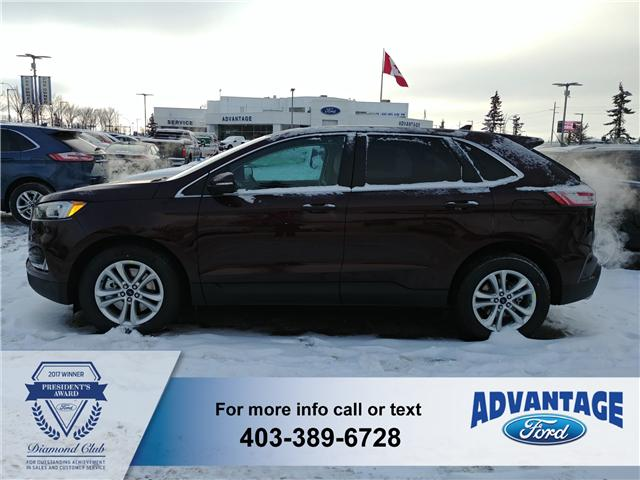 2019 Ford Edge SEL (Stk: K-502) in Calgary - Image 2 of 6