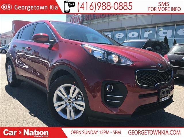 2019 Kia Sportage LX FWD | $162 BI-WEEKLY | BACK-UP CAM | (Stk: ST19048) in Georgetown - Image 1 of 25