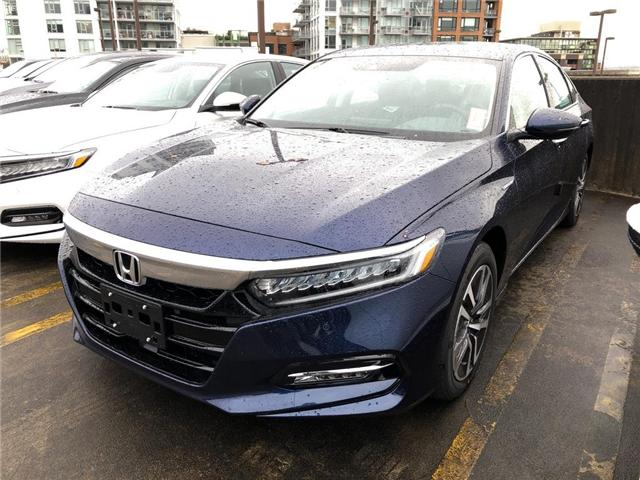 2019 Honda Accord Hybrid Touring (Stk: 6K00510) in Vancouver - Image 1 of 4