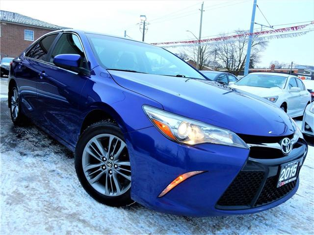 2015 Toyota Camry SE (Stk: 4T1BF1) in Kitchener - Image 1 of 22
