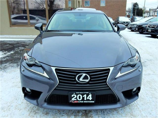 2014 Lexus IS 250 Base (Stk: JTHCF1) in Kitchener - Image 2 of 27