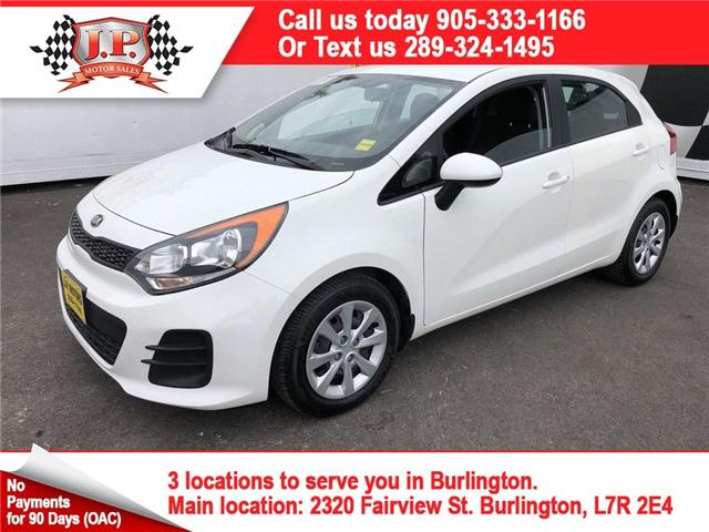 2017 Kia Rio5 LX+ (Stk: 45220r) in Burlington - Image 1 of 22