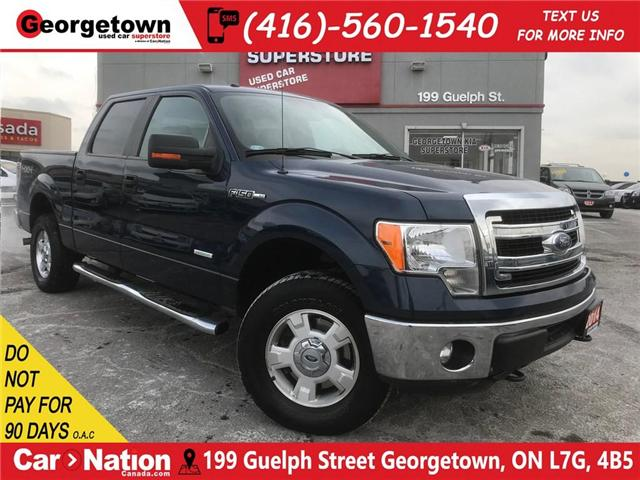 2014 Ford F-150 XLT|CREW CAB | 4X4 | 3.5L | 6 PASSENGER | PWR SEAT (Stk: P11760) in Georgetown - Image 1 of 26
