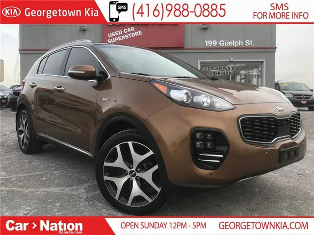 2017 Kia Sportage SX Turbo | PANO ROOF | NAV | AWD | LOADED (Stk: P11757) in Georgetown - Image 1 of 30
