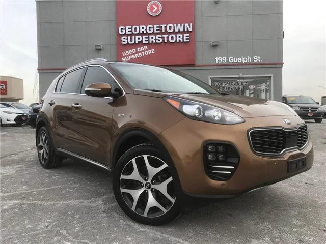 2017 Kia Sportage SX Turbo | PANO ROOF | NAV | AWD | LOADED (Stk: P11757) in Georgetown - Image 2 of 30