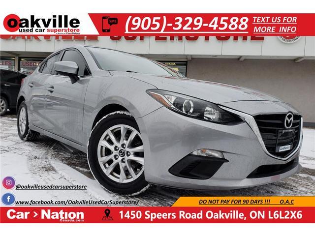 2015 Mazda Mazda3 GS| B/U CAM | BLUETOOTH | PUSH BUTTON | ALLOYS (Stk: P11630A) in Oakville - Image 1 of 23