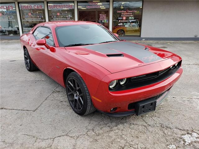 2016 Dodge Challenger R/T | NAV | B/U CAM | RED LEATHER | HTD VNTD SEATS (Stk: P11740A) in Oakville - Image 2 of 20