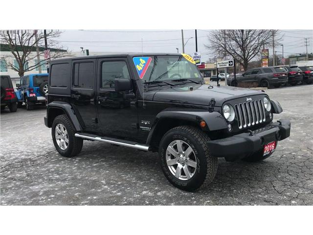 2016 Jeep Wrangler Unlimited Sahara (Stk: 44669) in Windsor - Image 2 of 11