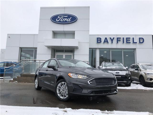 2019 Ford Fusion Hybrid SE (Stk: FS19046) in Barrie - Image 1 of 25