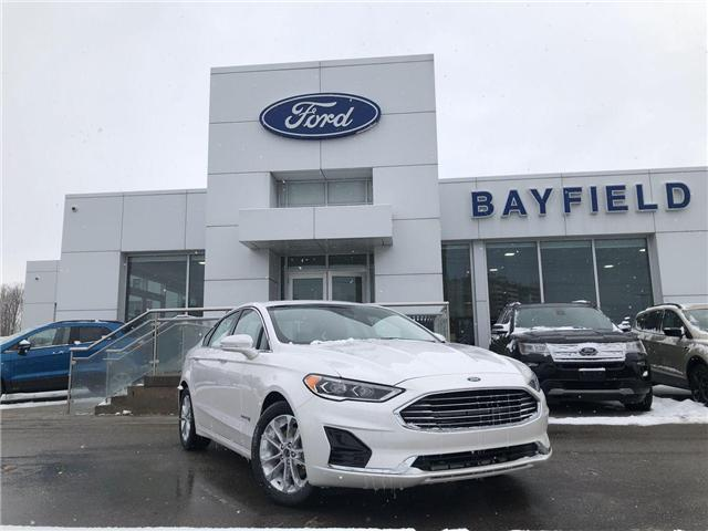 2019 Ford Fusion Hybrid SEL (Stk: FS19101) in Barrie - Image 1 of 22
