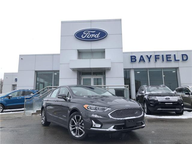 2019 Ford Fusion Hybrid Titanium (Stk: FS19057) in Barrie - Image 1 of 25