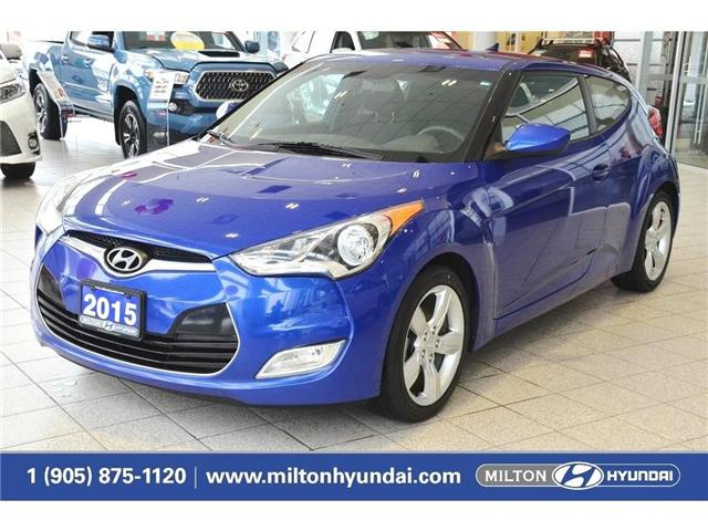2015 Hyundai Veloster  (Stk: 224170A) in Milton - Image 1 of 36