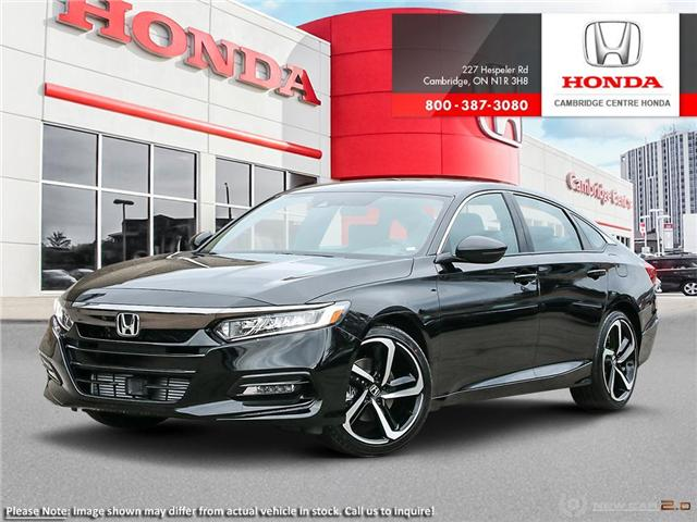 2019 Honda Accord Sport 2.0T (Stk: 19446) in Cambridge - Image 1 of 24