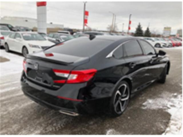 2019 Honda Accord Sport 1.5T (Stk: P7010) in Georgetown - Image 2 of 11