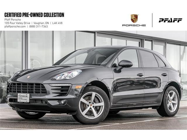 2017 Porsche Macan  (Stk: U7635) in Vaughan - Image 1 of 22