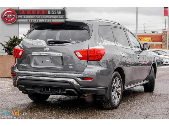 2018 Nissan Pathfinder SL Premium (Stk: 518005) in Scarborough - Image 4 of 30