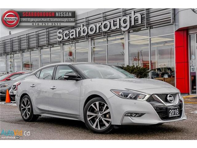 2016 Nissan Maxima  (Stk: U18013A) in Scarborough - Image 1 of 28