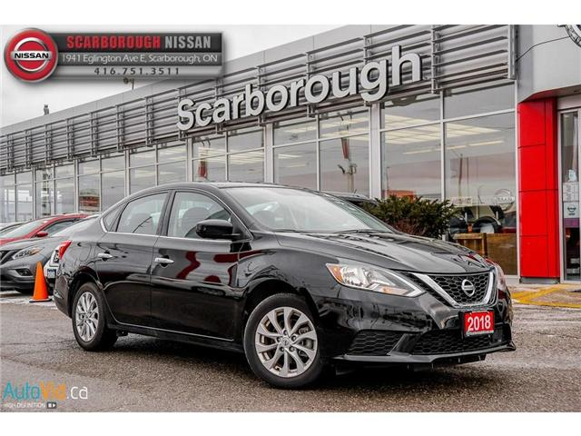 2018 Nissan Sentra  (Stk: T18011B) in Scarborough - Image 1 of 26