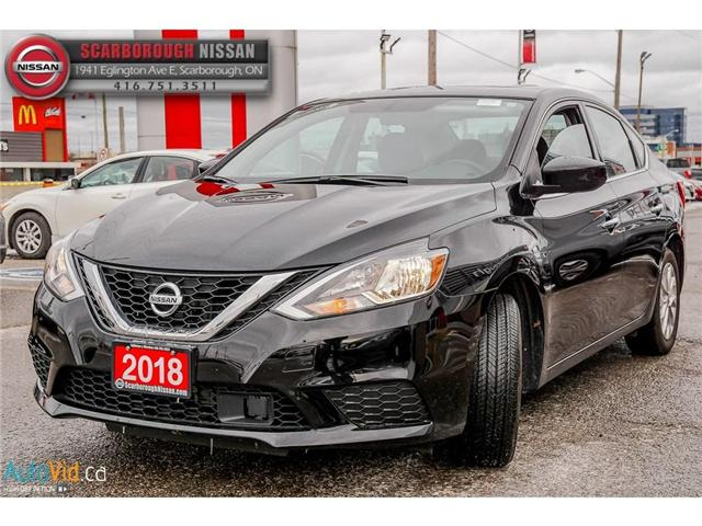 2018 Nissan Sentra  (Stk: T18011B) in Scarborough - Image 9 of 26