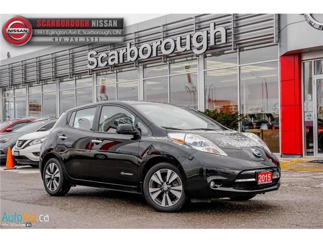 2015 Nissan LEAF SL (Stk: P7677) in Scarborough - Image 1 of 29