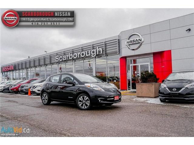 2015 Nissan LEAF SL (Stk: P7677) in Scarborough - Image 2 of 29