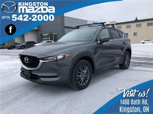 2017 Mazda CX-5 GS (Stk: 18T029A) in Kingston - Image 1 of 14
