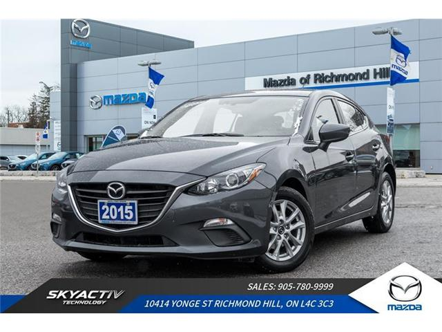 2015 Mazda Mazda3 GS (Stk: P0348) in Richmond Hill - Image 1 of 19