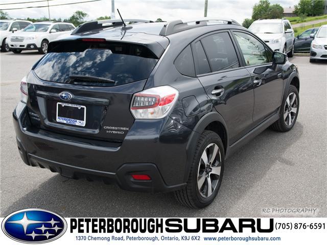 2016 Subaru Crosstrek Hybrid  (Stk: S2828) in Peterborough - Image 8 of 25