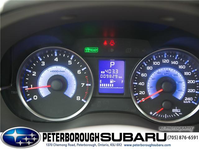 2016 Subaru Crosstrek Hybrid  (Stk: S2828) in Peterborough - Image 16 of 25