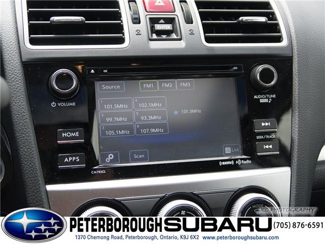 2016 Subaru Crosstrek Hybrid  (Stk: S2828) in Peterborough - Image 17 of 25