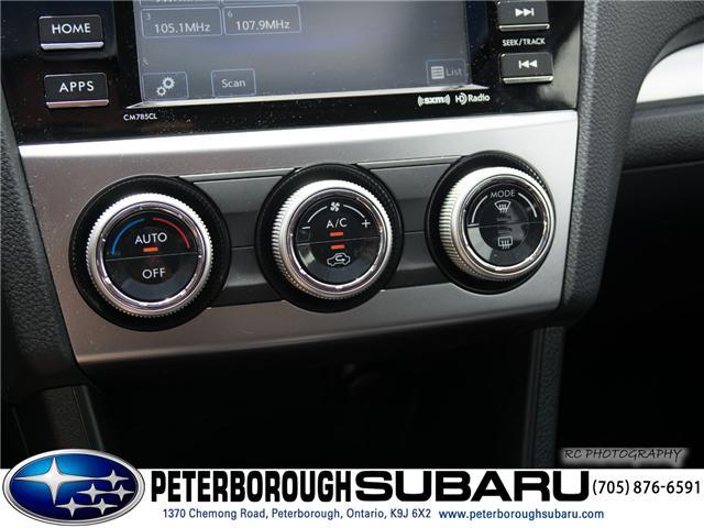 2016 Subaru Crosstrek Hybrid  (Stk: S2828) in Peterborough - Image 18 of 25