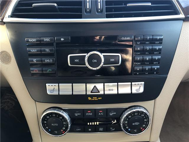 2014 Mercedes-Benz C-Class Base (Stk: 10225) in Lower Sackville - Image 14 of 19