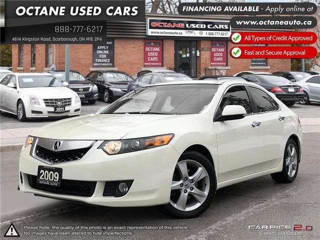 2009 Acura TSX Technology Package (Stk: ) in Scarborough - Image 1 of 22
