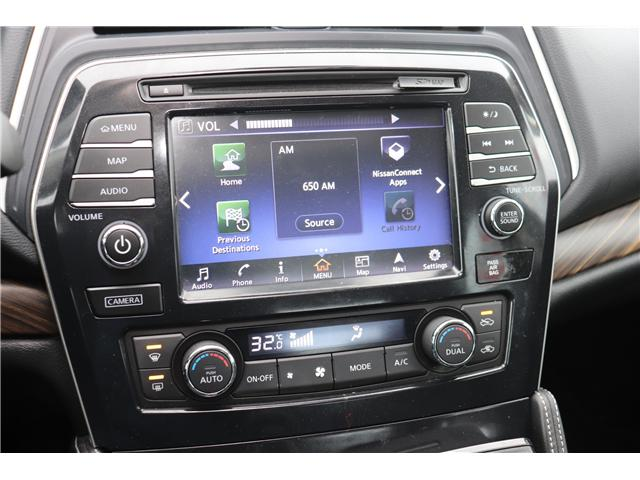 2016 Nissan Maxima Platinum (Stk: CON3) in Saskatoon - Image 19 of 27