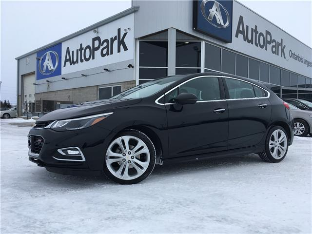2018 Chevrolet Cruze Premier Auto (Stk: 18-29281RMB) in Barrie - Image 1 of 29