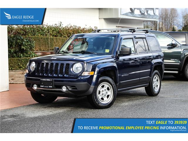 2017 Jeep Patriot Sport/North (Stk: 179414) in Coquitlam - Image 1 of 15