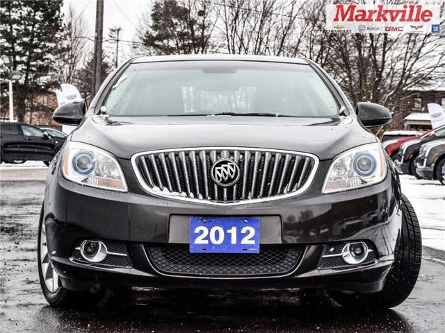 2012 Buick Verano LEATHER EDN-GM CERTIFIED PRE-OWNED-1 OWNER-CLEAN! (Stk: 245863A) in Markham - Image 2 of 24