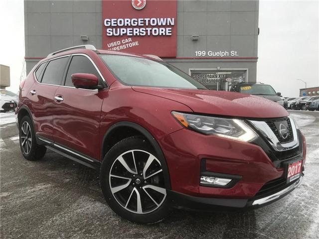 2017 Nissan Rogue SL | AWD | NAVI | BU CAM | PANO ROOF | LOADED (Stk: GSP105) in Georgetown - Image 2 of 30
