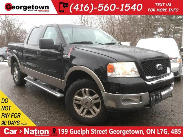 2005 Ford F-150 Lariat | YOU CERTIFY YOU SAVE | AS IS SPECIAL (Stk: P11463A) in Georgetown - Image 1 of 30
