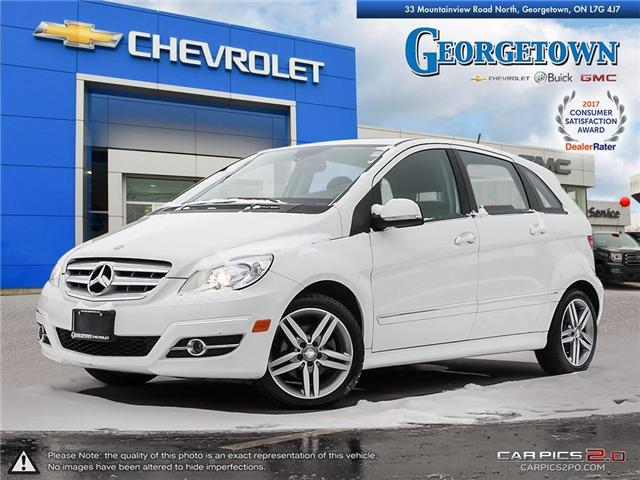2011 Mercedes-Benz B-Class Turbo (Stk: 28900) in Georgetown - Image 1 of 27