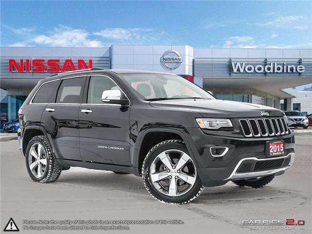 2015 Jeep Grand Cherokee Limited (Stk: P7168A) in Etobicoke - Image 1 of 19