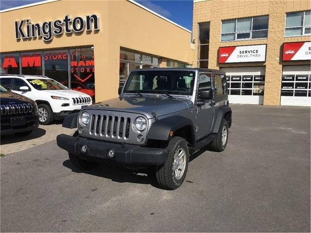 2014 Jeep Wrangler Sport (Stk: 18T077A) in Kingston - Image 2 of 14