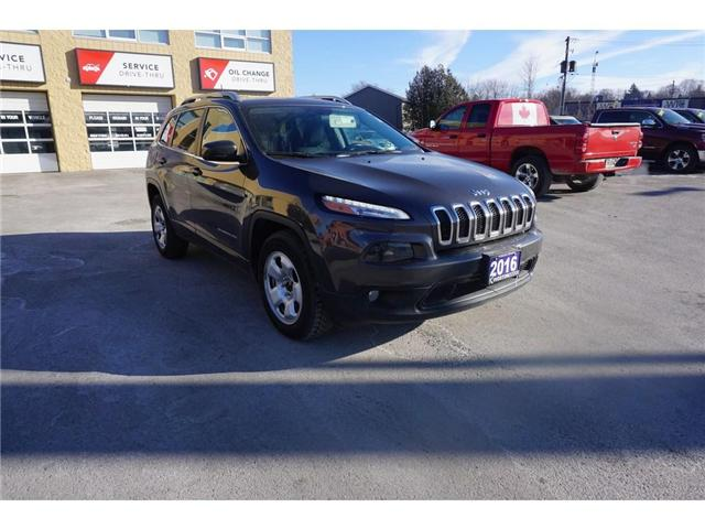 2016 Jeep Cherokee North (Stk: 18T172A) in Kingston - Image 1 of 17