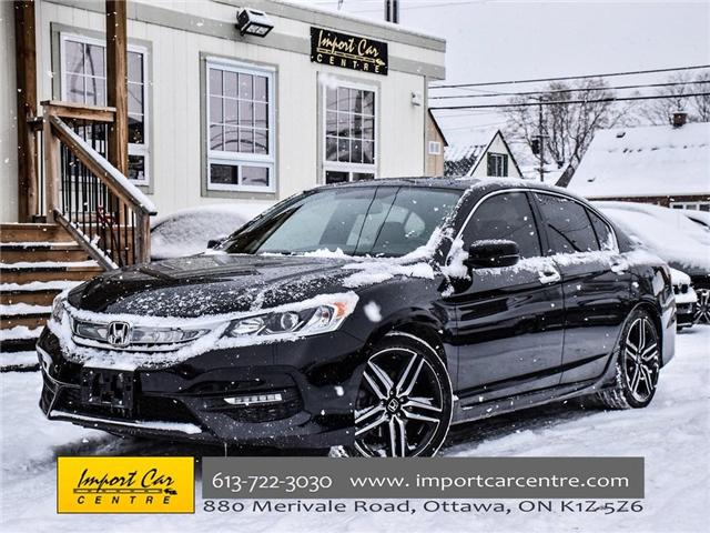 2016 Honda Accord Sport (Stk: 808688) in Ottawa - Image 1 of 29