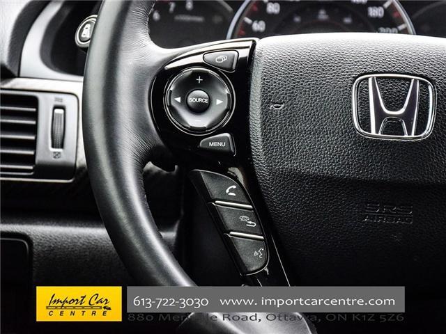 2016 Honda Accord Sport (Stk: 808688) in Ottawa - Image 23 of 29