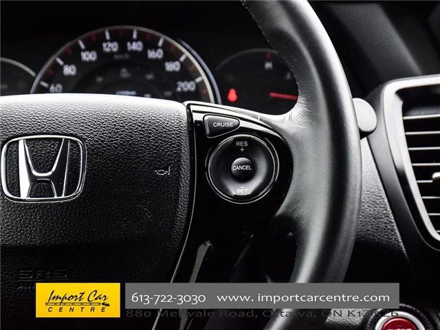 2016 Honda Accord Sport (Stk: 808688) in Ottawa - Image 24 of 29