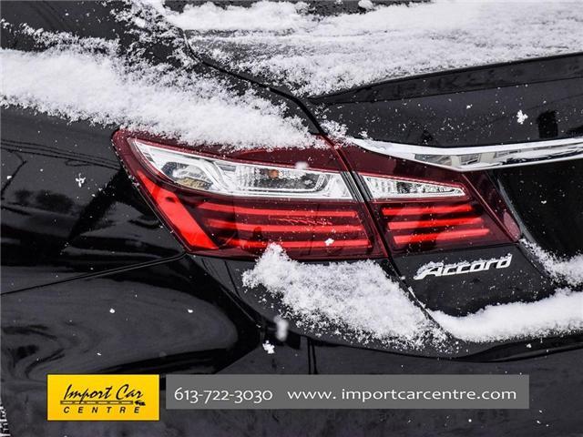 2016 Honda Accord Sport (Stk: 808688) in Ottawa - Image 28 of 29