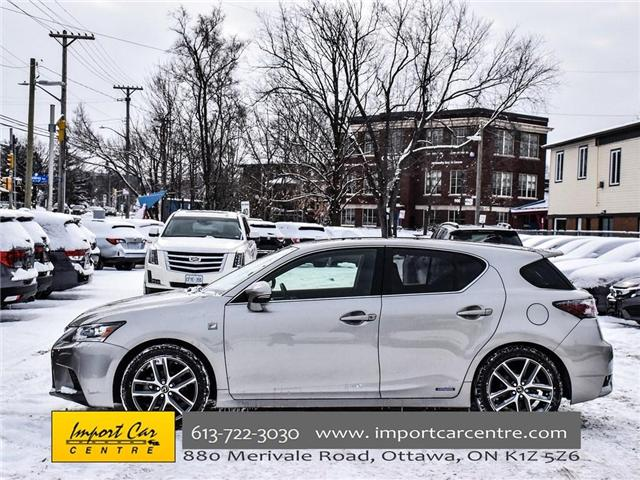 2017 Lexus CT 200h Base (Stk: 287209) in Ottawa - Image 3 of 30