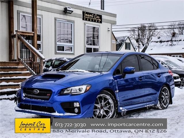 2017 Subaru WRX STI Sport-tech (Stk: 836298) in Ottawa - Image 1 of 30
