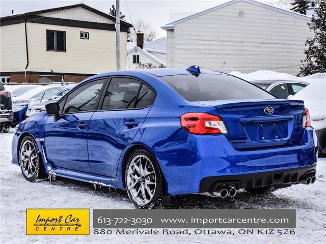 2017 Subaru WRX STI Sport-tech (Stk: 836298) in Ottawa - Image 4 of 30